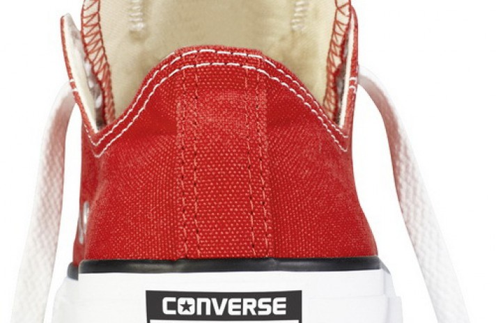 Converse All Star Low CHUCK TAYLOR Red White красные, фото 2