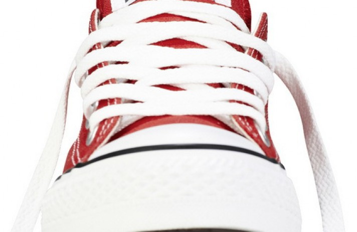 Converse All Star Low CHUCK TAYLOR Red White красные, фото 4