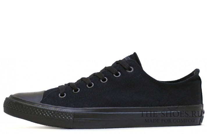 Converse All Star 2 Lunarlon Low CHUCK TAYLOR Black Band черные
