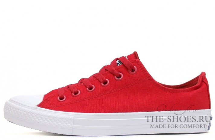5d3630f19f84 Купить Converse All Star 2 Lunarlon Low CHUCK TAYLOR Red White - красные