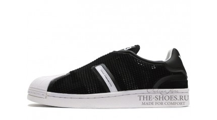 Superstar КРОССОВКИ МУЖСКИЕ<br/> ADIDAS Y-3 SUPERSTAR GRID BLACK WHITE