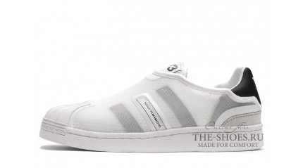 Superstar КРОССОВКИ МУЖСКИЕ<br/> ADIDAS Y-3 SUPERSTAR GRID WHITE