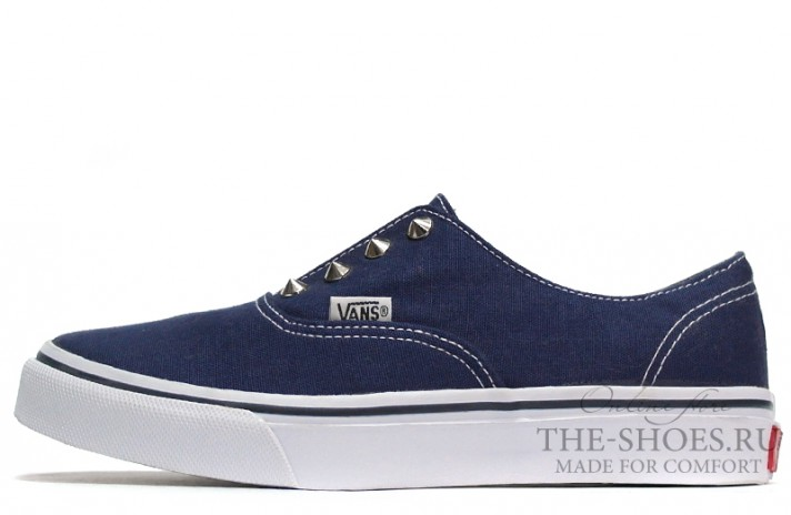 Vans Slip-on Thorns Blue White синие