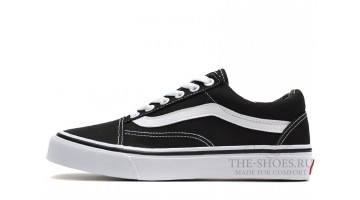 Кеды Женские Vans Old Skool Black White