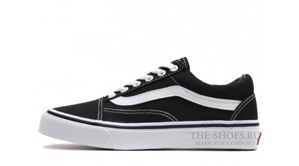 Vans КЕДЫ МУЖСКИЕ<br/> VANS OLD SKOOL CLASSIC BLACK WHITE