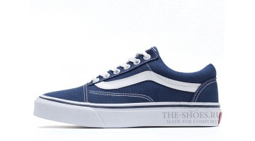 Кеды Женские Vans Old Skool Blue White