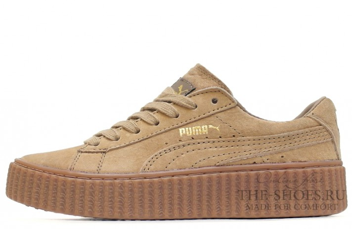 Puma Creeper by Rihanna Begie бежевые