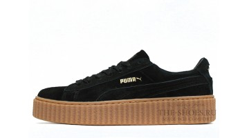 Кроссовки женские Puma Creeper by Rihanna Black Begie