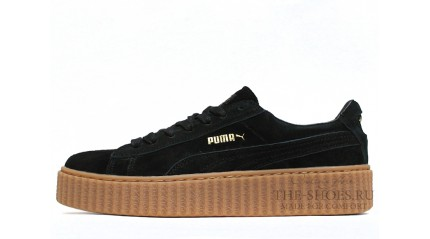 Puma Creeper by Rihanna Black Begie