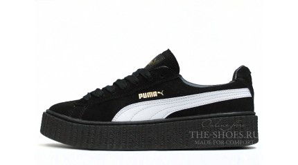 Creeper КРОССОВКИ ЖЕНСКИЕ<br/> PUMA CREEPER BY RIHANNA BLACK WHITE