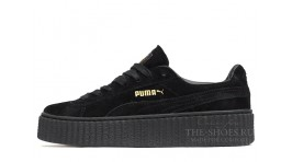 Puma Creeper by Rihanna Black черные