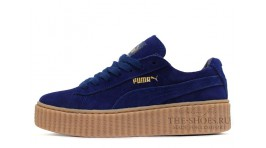 Puma Creeper by Rihanna Bright Blue темно-синие