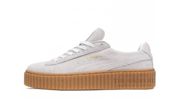 Кроссовки женские Puma Creeper by Rihanna Pure White