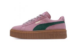 Puma Creeper by Rihanna Pink Green розовые