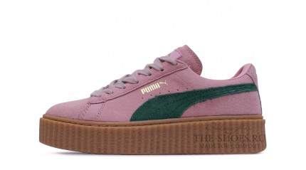 Creeper КРОССОВКИ ЖЕНСКИЕ<br/> PUMA CREEPER BY RIHANNA PINK GREEN