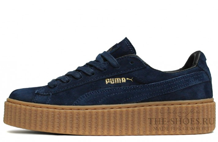 Puma Creeper by Rihanna Blue Night темно-синие