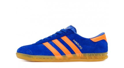 Adidas Hamburg Blue Orange Glassy