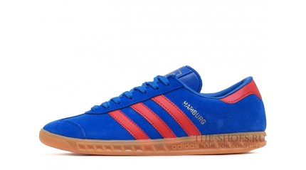 Adidas Hamburg Blue Red