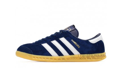 Adidas Hamburg Blue Navy White
