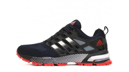 Adidas Marathon TR 15 Dark Blue Gray Red