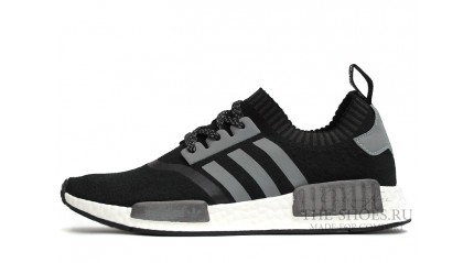 NMD КРОССОВКИ МУЖСКИЕ<br/> ADIDAS NMD RUNNER BLACK GREY WHITE
