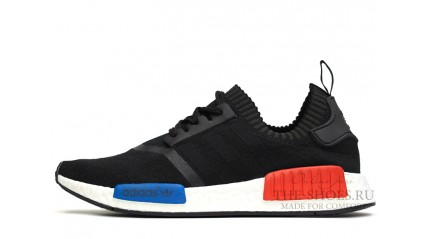 NMD КРОССОВКИ МУЖСКИЕ<br/> ADIDAS NMD RUNNER BLACK WHITE