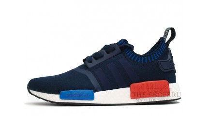NMD КРОССОВКИ МУЖСКИЕ<br/> ADIDAS NMD RUNNER DARK BLUE WHITE