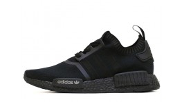 ADIDAS NMD R1 Runner Primknit Shadow Black черные