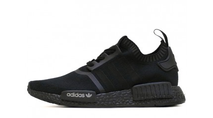 ADIDAS NMD R1 Runner Primknit Shadow Black