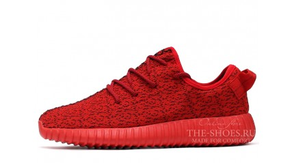 Yeezy Boost КРОССОВКИ МУЖСКИЕ<br/> ADIDAS YEEZY BOOST 350 UNIVERSITY RED