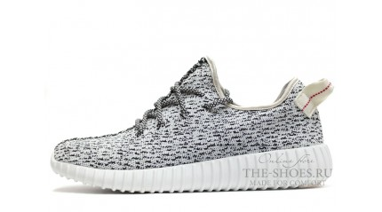Yeezy Boost КРОССОВКИ МУЖСКИЕ<br/> ADIDAS YEEZY BOOST 350 GREY WHITE