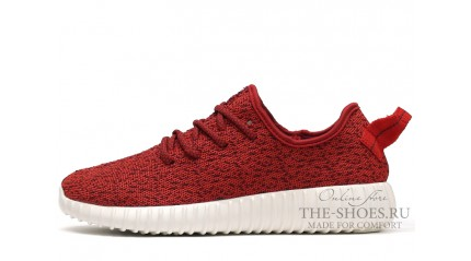 Yeezy Boost КРОССОВКИ МУЖСКИЕ<br/> ADIDAS YEEZY BOOST 350 HOT RED WHITE