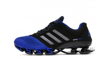 Spring КРОССОВКИ МУЖСКИЕ<br/> ADIDAS SPRING BOUNCE BLACK BLUE