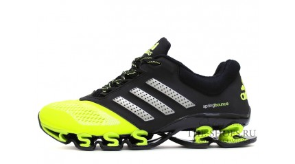 Spring КРОССОВКИ МУЖСКИЕ<br/> ADIDAS SPRING BOUNCE ACID GREEN BLACK