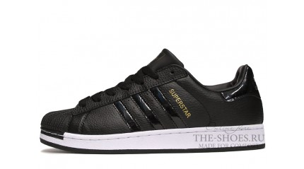 Superstar КРОССОВКИ МУЖСКИЕ<br/> ADIDAS SUPERSTAR BLACK TOP