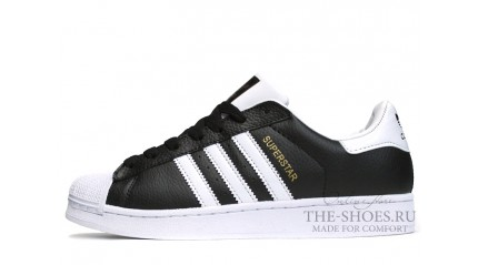 Superstar КРОССОВКИ МУЖСКИЕ<br/> ADIDAS SUPERSTAR BLACK WHITE