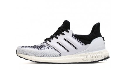 Ultra boost КРОССОВКИ МУЖСКИЕ<br/> ADIDAS ULTRA BOOST WHITE BLACK