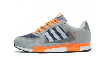 ZX КРОССОВКИ МУЖСКИЕ<br/> ADIDAS ZX 850 WOLF GREY ORANGE WHITE
