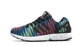 Adidas ZX Flux Multicolor Black White разноцветные