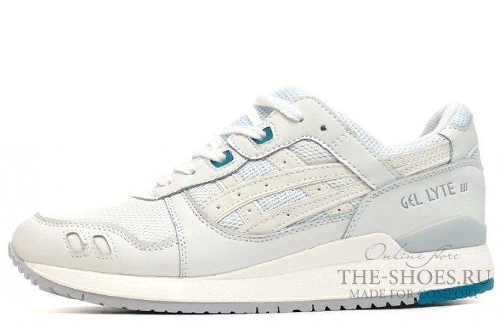 Asics Gel Lyte 3 Ghost White белые