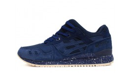 Asics Gel Lyte 3 Blue Navy Reigning Champ темно-синие