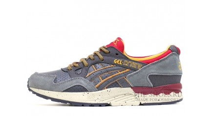Gel Lyte 5 КРОССОВКИ МУЖСКИЕ<br/> ASICS GEL LYTE V GRAY DALI YELLOW WHITE