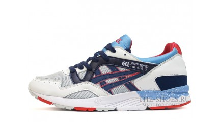 Asics GEL LYTE 5 Ghost Chili White Blue Red