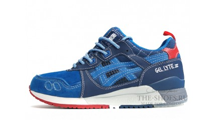 Gel Lyte 3 КРОССОВКИ МУЖСКИЕ<br/> ASICS GEL LYTE 3 DUAL BLUE WHITE RED