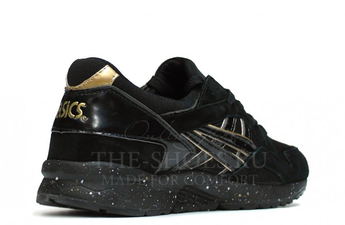 Asics Gel LYTE 5 Atmos Black Gold черные, фото 3
