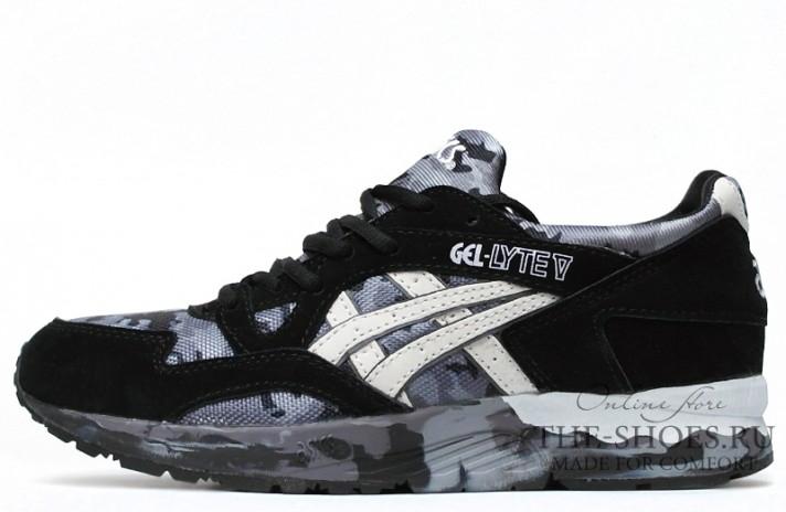Кроссовки Asics Gel LYTE 5 Cold Gray Military Black White