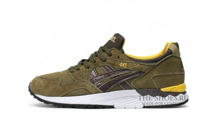 Asics Gel LYTE 5 Bamboo Olive Dark Brown