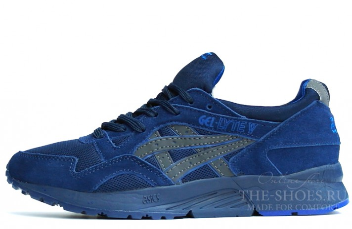 Asics Gel LYTE 5 Night Shade Navy синие, фото 1