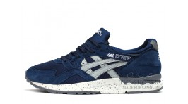 Asics Gel LYTE 5 Blue Suede Grey White Rash темно-синие замшевые