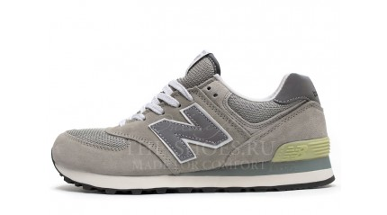 New Balance 574 Dual Grey White
